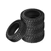 4 X New Nitto Trail Grappler M/t 35/12.5/22 117q Off-road Traction Tire