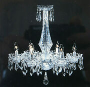 Andnbspstunning Vintage Waterford 6 Arm Crystal Chandelier - Local Pick Up Only