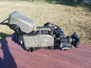 Ikegami Hk-388pw With Canon J21x7.8b4 Irs Sx12 Sd Eng Lens With X2 Extender