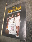 Baskin Robbins Bewitched Tv Show Ice Cream 1970 Store Display Poster Halloween