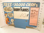 Ivory Laundry Soap Flakes Detergent 1930s Store Display Sign Silk Stocking Pad