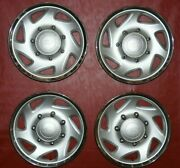 1999-2005 Ford F250 F350 Excursion 16 Hubcaps F81a-1130-aa 7021 Set Of 4