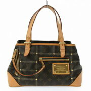 Louis Vuitton Rivett Bag Tote Monogram Canvas Previously Owned No.4541