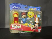 Disney Mickey Mouse Clubhouse Mouseka-friends Playset Mickey Golf 2008 Nrfb