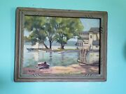 Oil Painting Julius Richter Studio Artist Painted Listed Rare Collectible