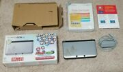 Nintendo 3ds Xl Mario And And Luigi Dream Team Silver System Handheld Console
