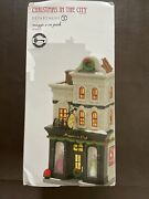 Dept 56 Christmas In The City Maggie's On Park Nib Premium Key, Special Release