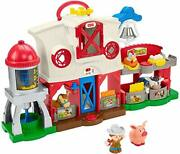 Fisher-price Little People Caring For Animals Farm Playset With Smart Stages ...