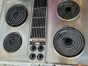 Jenn-air Electric Downdraft Stainless Steel Cooktop C202