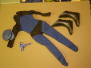 Vintage Ideal Captain Action Outfit Same Scale As Old Gi Joe Approx 11 Inch 1/6