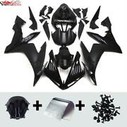 Motorcycle Abs Fairings For Yamaha Yzf R1 2004 05 2006 Black Injection Bodywork