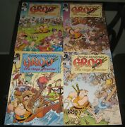 A-387 Groo The Hogs Of Horder 2009 Dark Horse Comic Book Lot Of 4 1- 4