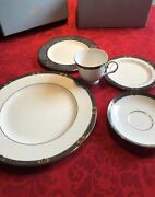 Bone China Sets. Four 5-pc Vintage Jewel Sets By Lenox Brand New In Orig Boxes