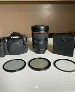 Canon Eos 80d With Ef 24-70mm F/2.8l Ii Usm Zoom Lens 2100 Obo
