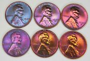 1948-1949 P D S Lincoln Wheat Cent Penny 2 Sets Awesome Looking Set Of Coins