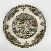 The Friendly Village By Johnson Brothers The Ice House Flat Cup Saucer