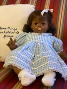 African American 18 Madame Alexander Pussy Cat Doll All Original With Tags