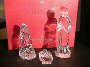 Waterford Nativity Collection Holy Family Three Figure Set Ireland