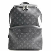 Louis Vuitton Eclipse Backpack Black Pvc Brand Previously Owned No.6985