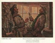 Vintage Merry Christmas For Less Than A Dollar Jack Roberts Greeting Cowboy Card