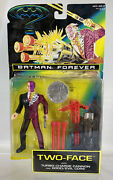 Vintage Batman Forever Two-face Turbo Cannon And Good Evil Coin 1995 Kenner
