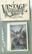 6 Vintage Sealed Victorian Girl Rescues Doll Water Guardian Angel Art Note Cards