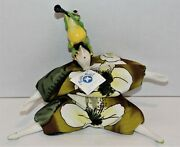 Poupee Millet Doll Signed Serge 11 Tall W/tag Frog Playing The Clarinet Ltd Ed