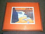 Anne Kendall Foote 'tell The Season's Hour' Serigraph Print 24/40 Signed 17x20