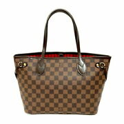Louis Vuitton Damier Neverful Pm N41359 Tote Bag With Pouch Women And039s No.7353