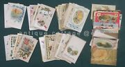 1910 Antique 67 Used Holiday Postcards Christmas Easter Birthday Valentine Craft