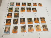 Pez 1970s 25 Candy Wrapper Spain National Soccer Team Stars Complete Set
