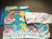 Vintage 2002 Care Bears Twin Sheet Setsweet Dreams Flat/fitted/1 Pillowcase