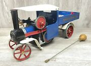 Vintage Early Mamod Live Steam Wagon Sw1 - Boxed Complete Rare