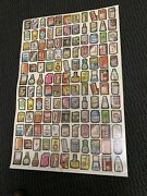 1980 Wacky Packages Wacky Packs Series 4-2 Sets Of 66 Stickers On Uncut Sheet
