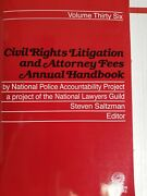 2021 Civil Rights Litigation And Attorney Fees Annual Handbook 36 Thomson Reuter