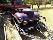 1939 Plymouth Bbq Andtrailer/car Bar B Q/ Customized 39 Plymouth With Pearl Paint