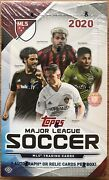 2020 Topps Mls Soccer Hobby Box 3 Auto Or Relic Guaranteed Brand New Sealed