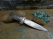 Sale. Wow 20s Navajo Dagger Letter Opener Arrow Whirling Log Sterling Old Pawn