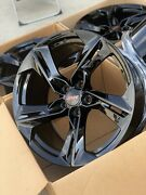 Chevy Camaro Ss Lt1 2ss Wheels Rims Rines Gloss Black 20andrdquo Factory Oem Staggered
