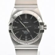 Omega Article Constellation Menand039s Watches 151351 Black Mens Previously No.8492