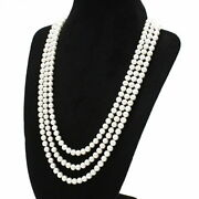 And Co. Necklace Pearl Long From Japan Fedex No.8853