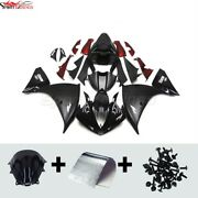 Motorcycle Abs Fairings For Yzf R1 2009 10 2011 Yamaha Black Injection Bodywork