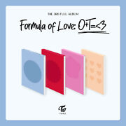 Twice - Formula Of Love O+t=3 Album+pre-order Benefit+poster+express Shipping