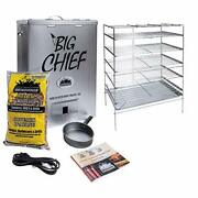 Smokehouse Products Big Chief Top Load Smoker Silver 27.06 L X 12.50 H X 18...