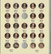1990-2009 Proof Lincoln Memorial Cents Collection 23 Pc Set- 20 Yrs