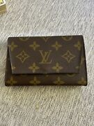 Authentic Louis Vuitton Vintage Playing Cards With Arsene Double Pouch