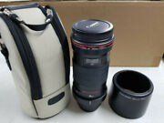 Canon Ef 180mm F/3.5l Macro L Usm Lens With Carrying Case