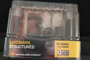 Woodland Scenics Tin Shack Built And Ready O Gauge Train Land Shed Wds5856 New