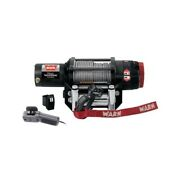 Warn 50and039 Wire Rope Winch Kit 4500 Lb. 2879525 Polaris Rzr 1000 Mounting Plates