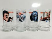 1984 Taco Bell Star Trek Iii The Search For Spock Collectible Glass Cup Lot Of 4